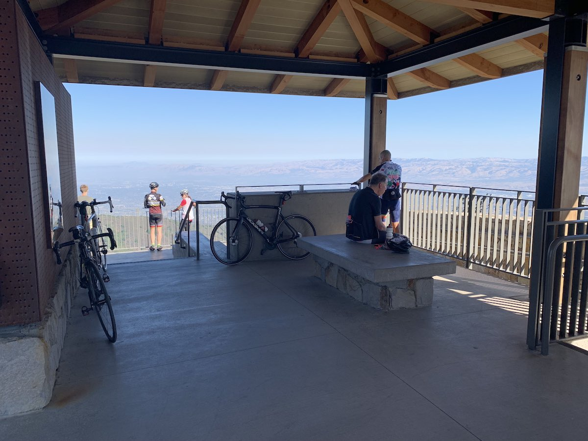 Shelter at the summit of Mt. Umunhum.